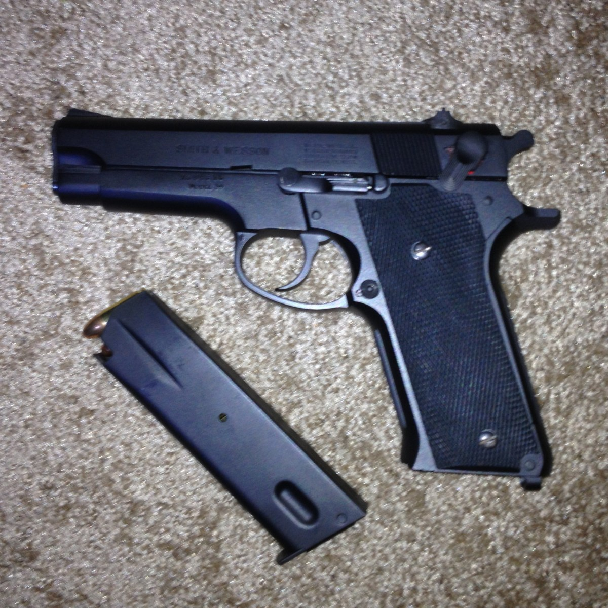 smith wesson model 59 9mm gun carry reviews