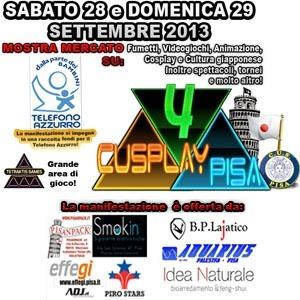Il GIC al 4° Cusplay Pisa