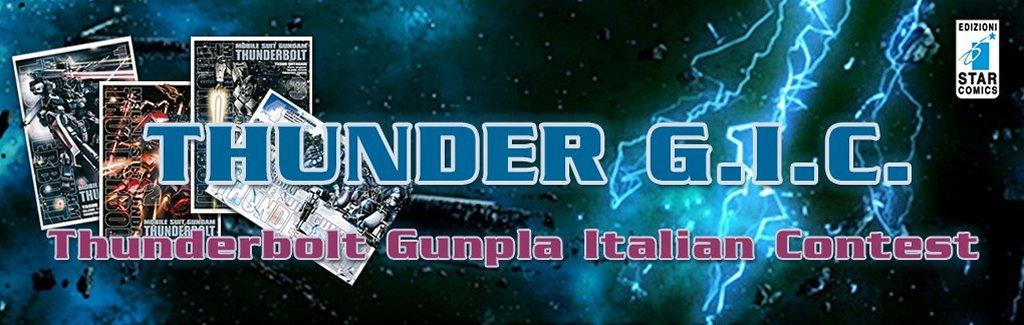 Thunderbolt Gunpla Italian Contes