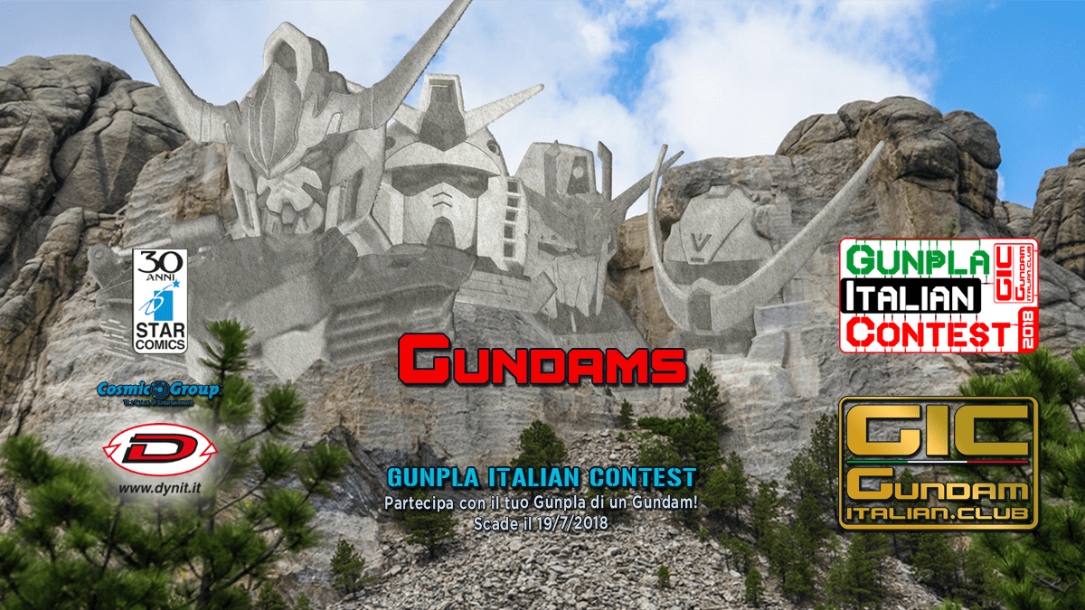 Gundams Gunpla Italian Contest