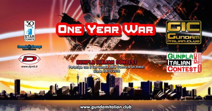One Year War Gunpla Italian Contest