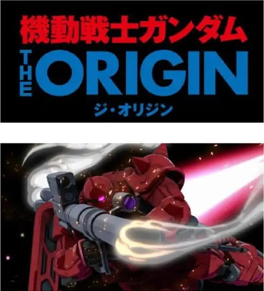 La serie tv di Gundam The Origin