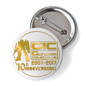 Spilletta GIC 10° Anniversario