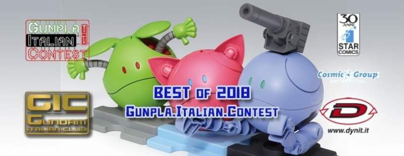 Best of the Year 2018 Gunpla Italian Contest