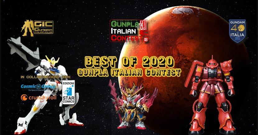 Best of the year 2020 Gunpla Italian Contest