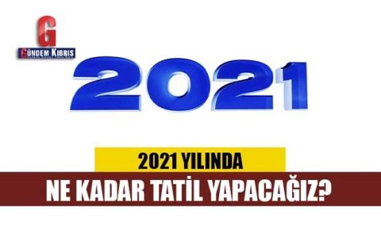 Πόσο καιρό θα κάνουμε διακοπές το 2021;  Εδώ είναι οι δημόσιες αργίες του 2021!