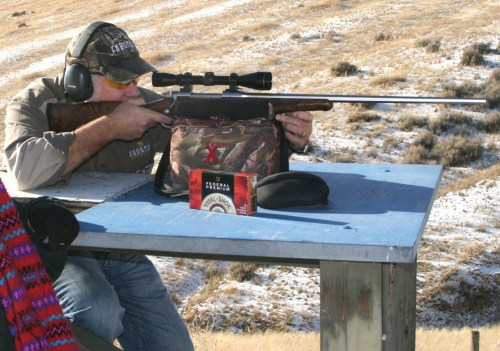 If you are recoil-sensitive, it is always a temptation to let someone else sight-in your rifle, but it is much better if you do it yourself.