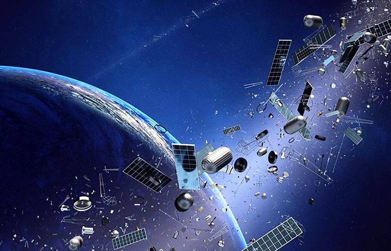 Uzay Çöplerine Örnek