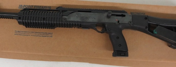 Used Hi-Point Carbine  40 S&W w/ extra magazine and box $250