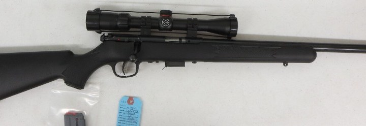 On Consignment: Savage 93  22 Mag w/ scope and extra