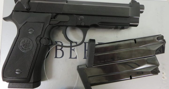 Used Beretta 92A1 9mm w/ 2 extra magazines and box $595