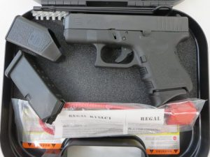 On Consignment:  Un-Fired Glock 26 w/ extra magazine and case $395