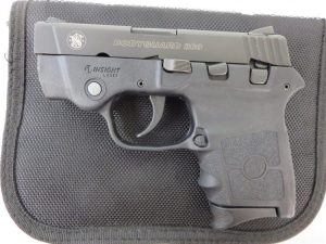 Used Smith & Wesson Bodyguard .380 w/ Laser and case $335