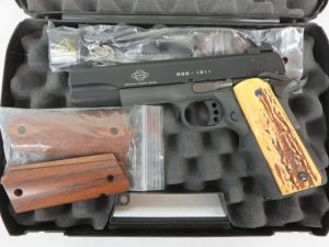 Used GSG 1911-22 .22LR w/ hard case and extra grips $265