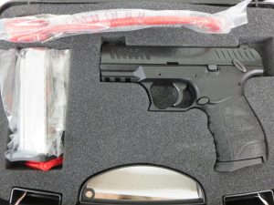 Used Unfired Walther CCP 9mm w/ Box & Ex Mag $395