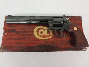 "On Consignment: Colt Python .357 Mag 8"" Unfired w/ Box $3950"