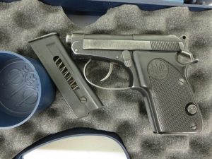 Used Beretta 21A Bobcat .22LR w/ case and box $295