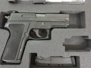 Used Sig Sauer P229 .40 S&W w/ extra magazine and case $750