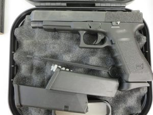 Used Glock 34 9mm w/ 2 extra magazines and case $550