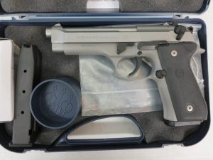 On Consignment:  Beretta 92FS Inox 9mm w/ extra magazine and case $595