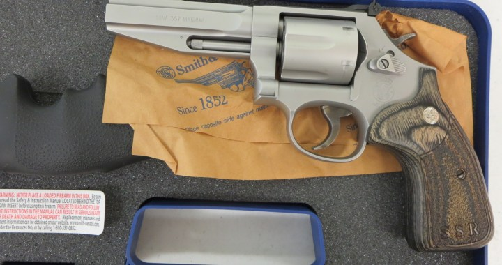 Used Smith Wesson 686 SSR 357 Mag 845