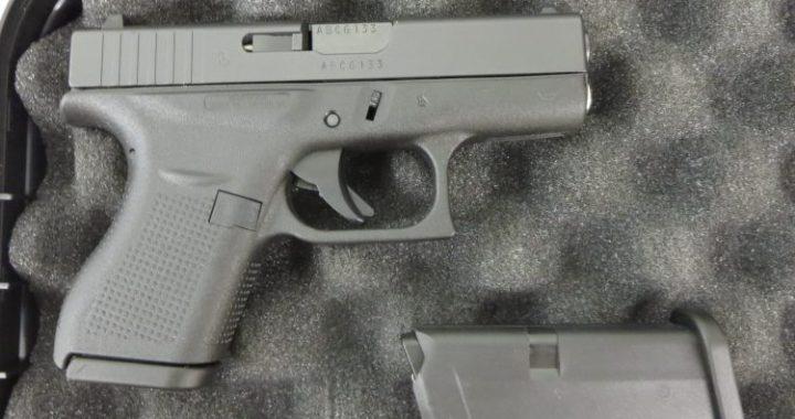 Used Glock 42  380 w/ extra magazine and case $375