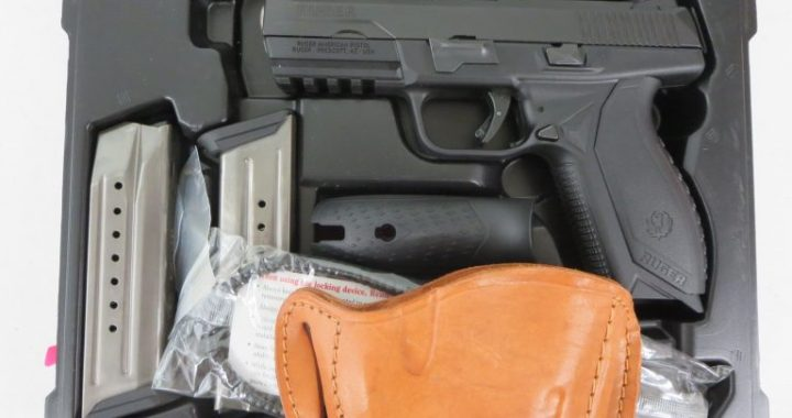 On Consignment: Ruger American 9mm w/ extra magazine and holster