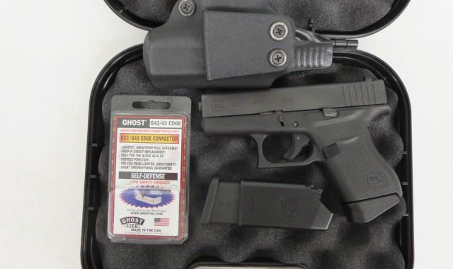 on consignment glock 43 talo 9mm w night sight extra magazine