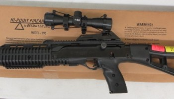 On Consignment: Hi-Point Carbine 9mm w/ scope $295