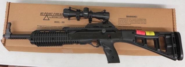 Used Hi-Point 9mm Carbine w/ scope and box $295 – GunGrove com
