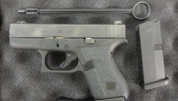 On Consignment: Glock 42  380 w/ night sights, 2 extra magazines and
