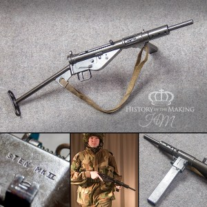 sten gun-replica-gun hire-WW2