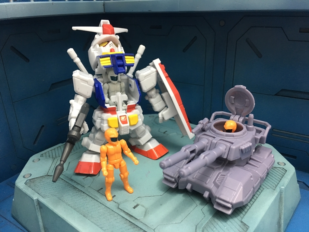 Gundam Micro Wars First Release Review Gunjap