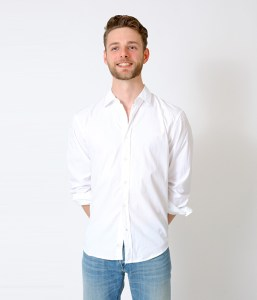 Misha - White Shirt - Smiling