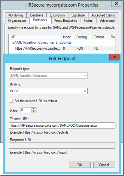 SAML and Active Directory Federation Services (ADFS) Integration