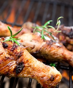 Grillsjefens fristelse - Marinert kyllinglår