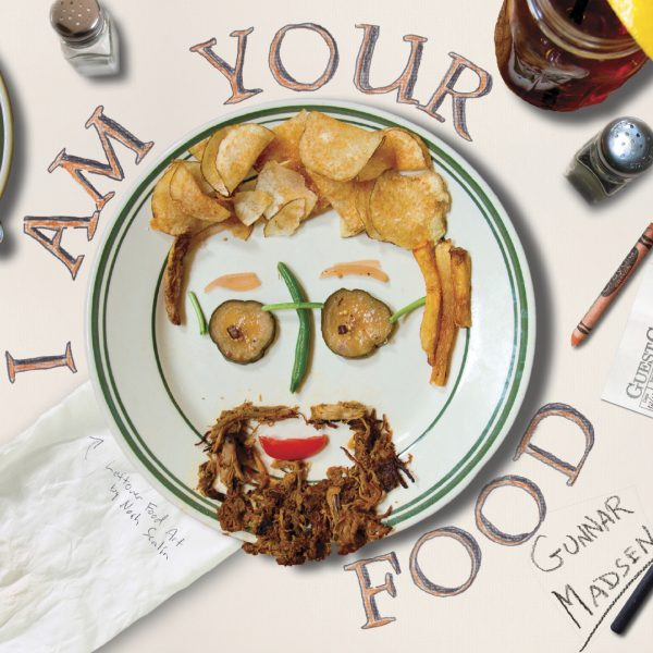 I Am Food Cover 300 Square