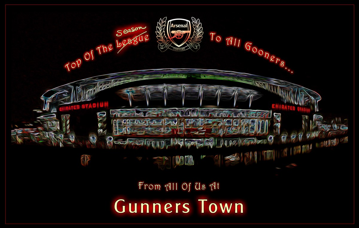 Top Of The Season From Gunners Town