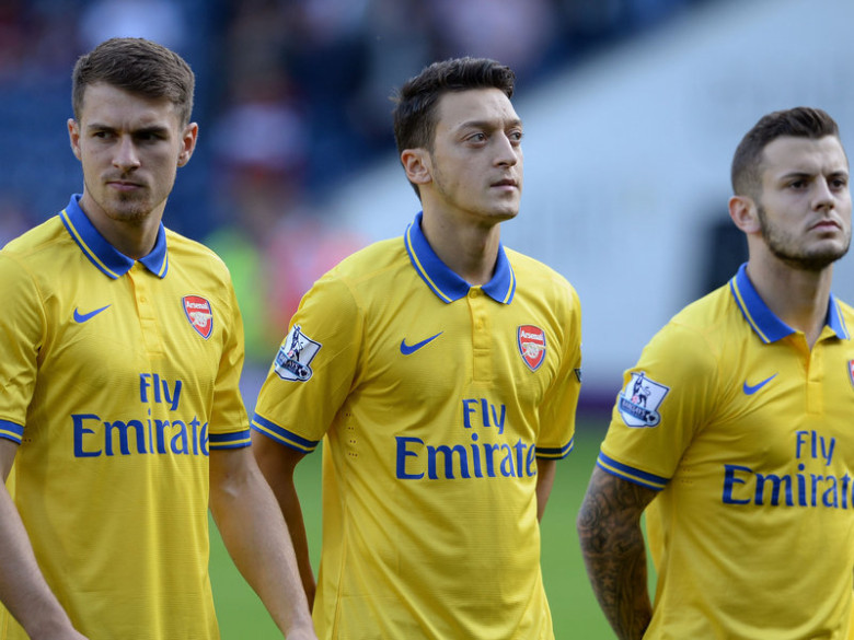 Ramsey, Wilshere, Ozil