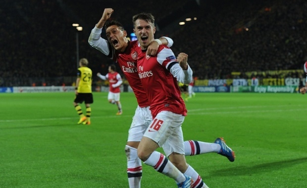 Ramsey and Ozil
