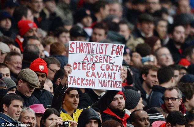 Shopping List for Arsene Wenger