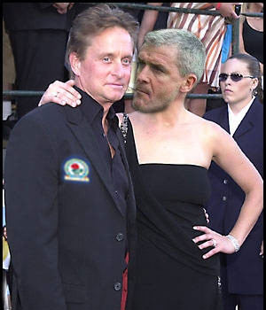mark huhes michael douglas