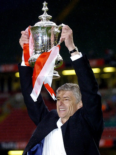 Arsene Wenger FA Cup