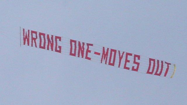 David Moyes plane