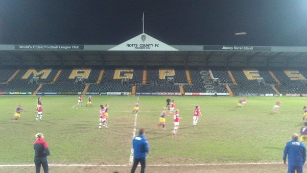 Notts County 1-1 Arsenal Ladies