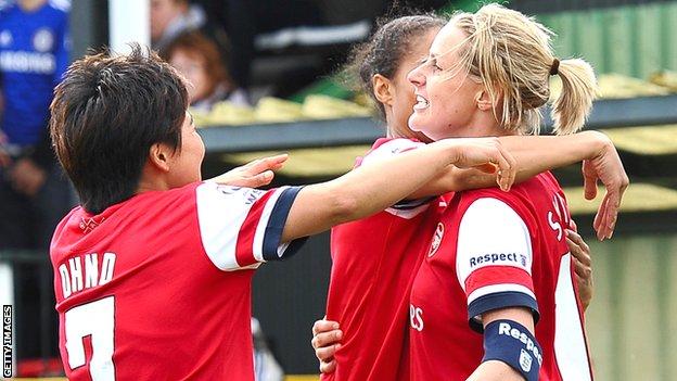 Arsenal Ladies 5-3 Chelsea 01