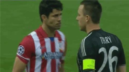 Diego Costa John Terry