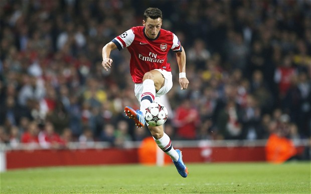 The One! - This system would bring out the dynamism in Mesut.