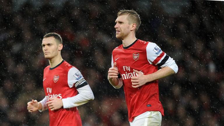 Thomas Vermaelen, Per Mertesacker