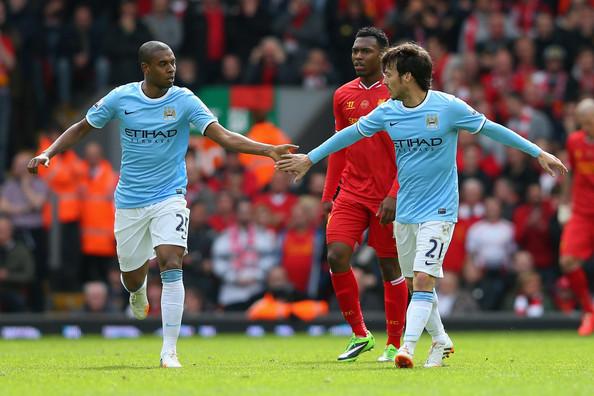 Fernandinho has allowed Silva to excel at Manchester City